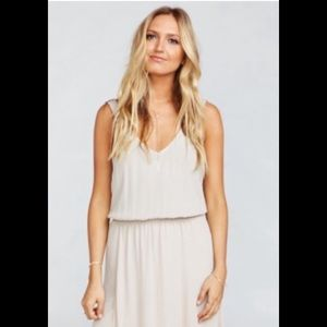 KENDALL MAXI DRESS ~ SHOW ME THE RING CRISP